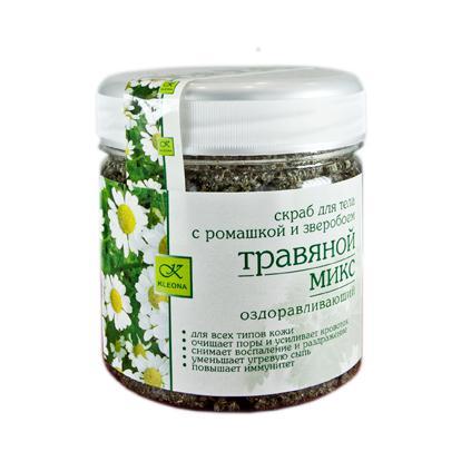 Купить Скраб для тела травы луговые клеона