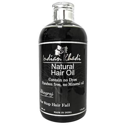 Купить Травяное масло против потери волос с эклиптой белой indian khadi