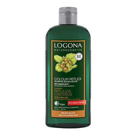 Купить Шампунь для окрашенных волос «орех» logona, 250 мл