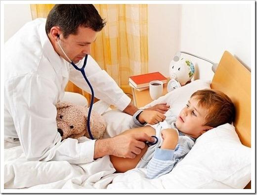 Рекомендации, которые разрешают привезти ребёнка на приём к врачу